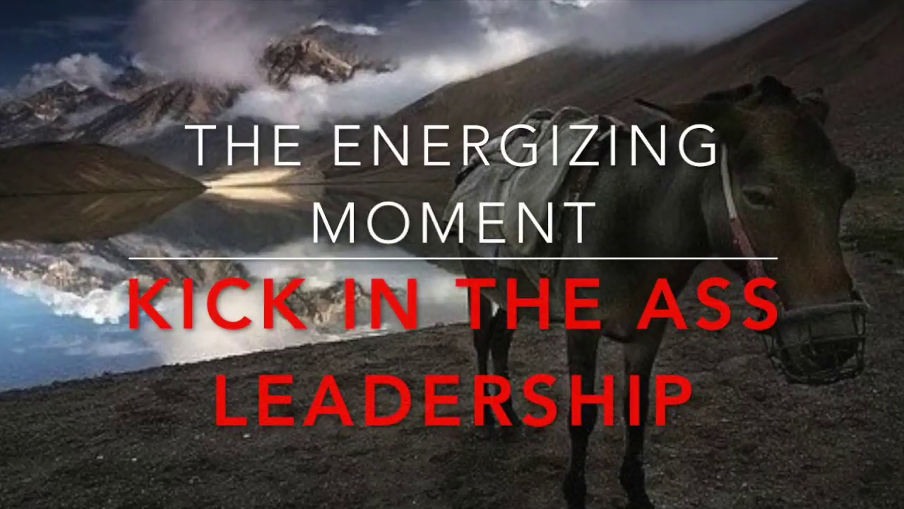 THE ENERGIZING MOMENT: Part 4: How to find blind spots in your leadership.