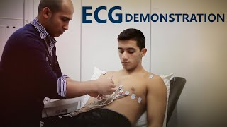 ECG Lead Placement - OSCE Exam Demonstration