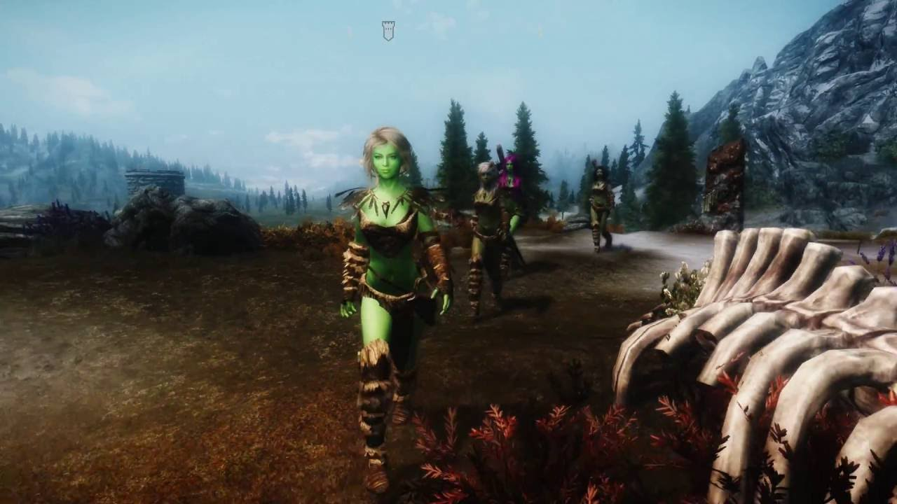 Her Animations at Skyrim Nexus - mods and community