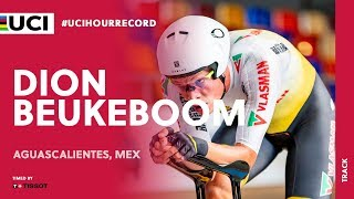 UCI Hour Record timed by Tissot – Aguascalientes (MEX) / Dion Beukeboom