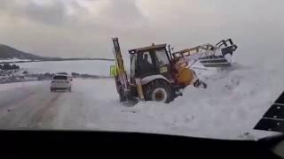 Ako sa vyrovnali so štedrou nádielkou snehu pri Pustom Poli