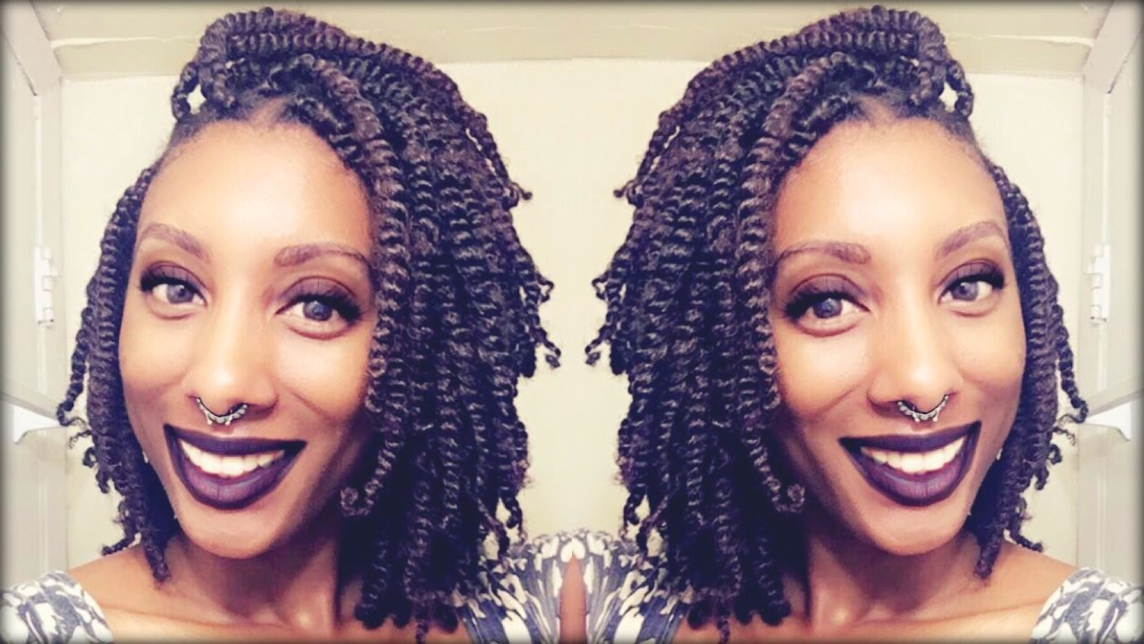 how to style natural kinky hair twists simple technique 8756 | maxresdefault