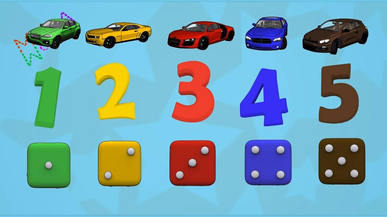 Машинки мультфильм - из серии мультфильмы для детей про ...