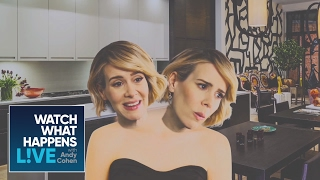 Sarah Paulson as Dot and Bette Acting as RHONY's Bethenny and Sonja | WWHL