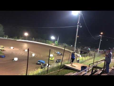 front wheel drive 4 cylinder wreckers or checkers race at I-77 speedway