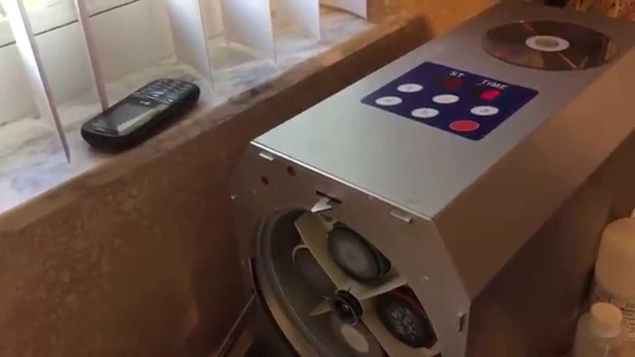 disc resurfacing machine