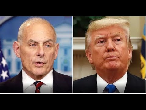 JUST IN!  GENERAL JOHN KELLY JUST SENT TRUMP A POWERFUL MESSAGE!