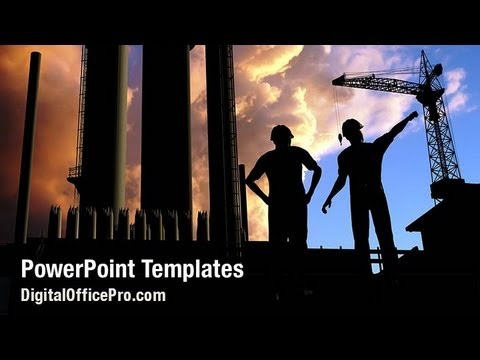 Construction project powerpoint template backgrounds construction project powerpoint template backgrounds digitalofficepro 02021w toneelgroepblik Gallery