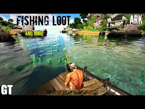 ark survival evolved рыбалка