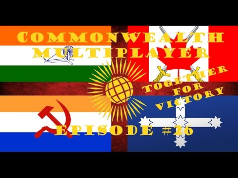 HOI 4 Multiplayer: Commonwealth Episode 26 - Too Many Conferences