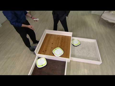 EcoVacs DeeBot Slim Bare Floor Sweep,Vac & Mop Robotic Vacuum on QVC