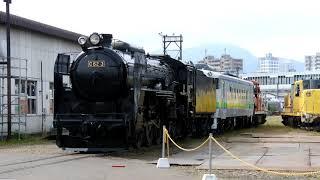 JR苗穂工場一般公開2019 蒸気機関車「C62 3」の牽引運転