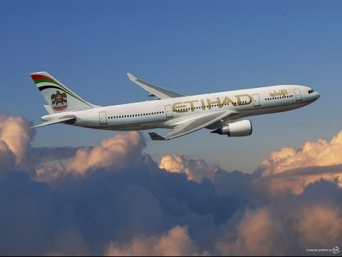[New Route] Etihad Airways Airbus A330-200 From Abu Dhabi To Phuket (Pictures 2014)