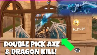 Menamescho's 💥 Double Pick Axe - Frostwing Dragon Glitch 👈 Fortnite Battle Royale - 18 11 2018