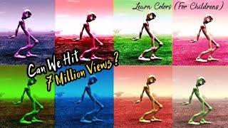 Learn Color For Children - Learn Colors Dame Tu Cosita Dance - Alien Dance | Normal vs Slow vs Fast