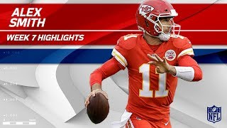 Alex Smith Passes for 342 Yards & 3 TDs vs. Oakland! | Chiefs vs. Raiders | Wk 7 Player Highlights