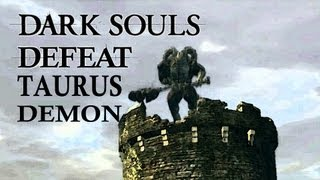 Dark Souls Guide - Easily Defeat Taurus Demon