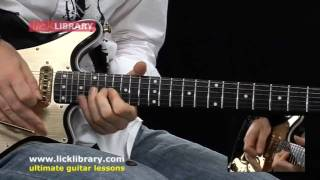 Brian May Style - Quick Licks - Guitar Solo Performance by Michael Casswell