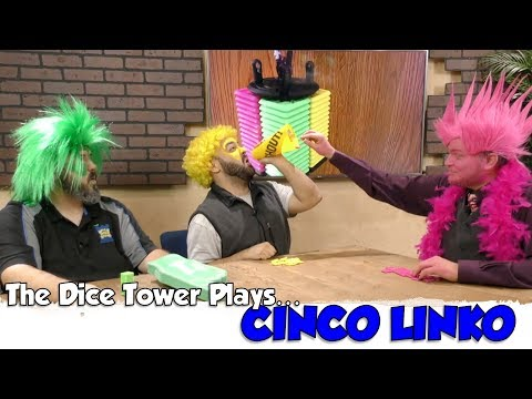 The Dice Tower Plays Cinco Linko...EXTREME!!