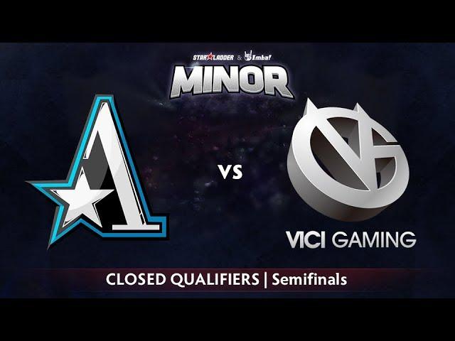 Aster vs Vici Gaming Game 1 - StarLadder ImbaTV CN Qualifier: Semifinals