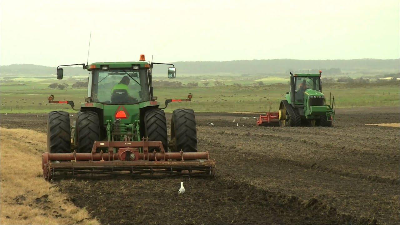 Potato story 4 land preparation youtube for Preparation of soil