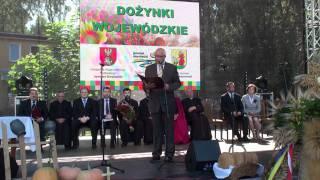Marszałek Województwa Jarosław Dworzański - Dożynki Wojewódzkie 2011
