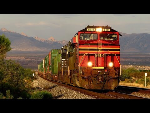 [HD] Summer Union Pacific Action in Southern Arizona 2017