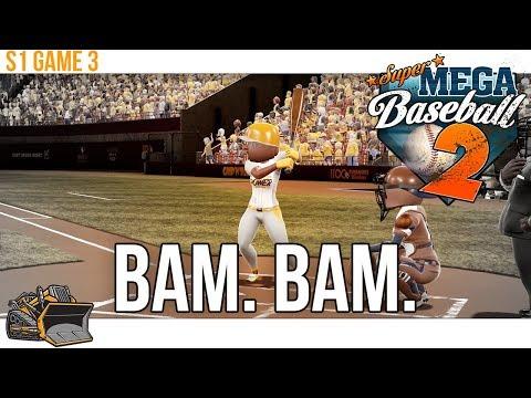 Bulldozer Power vs Dodgers Game 3 | Super Mega Baseball 2