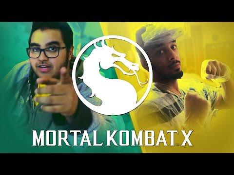 Mortal Kombat X - تحدي ضد نائف محب الانمي