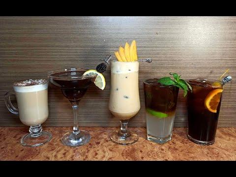 ТОП-5 Самых вкусных коктейлей с #Рижским бальзамом: Innocent Balsam, Black Mojito, Black & White...