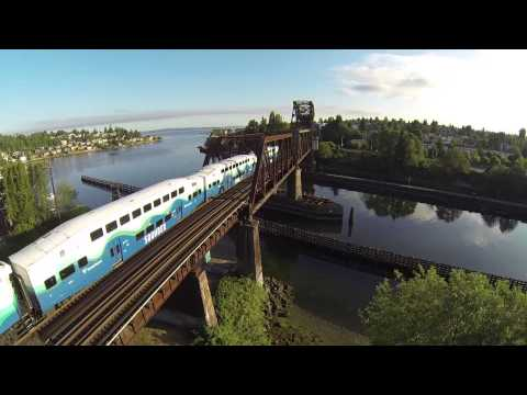 Sounder Commuter Train, Seattle