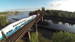 Sounder Commuter Train, Seattle