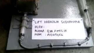 lift hidrolik sederhana