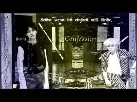 Yesung of Super Junior ft. Chanyeol of EXO - Confession k-pop [german Sub] 1st Mini Album Here I Am