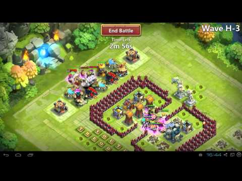Castle Clash Town Hall Level 17 HBM H