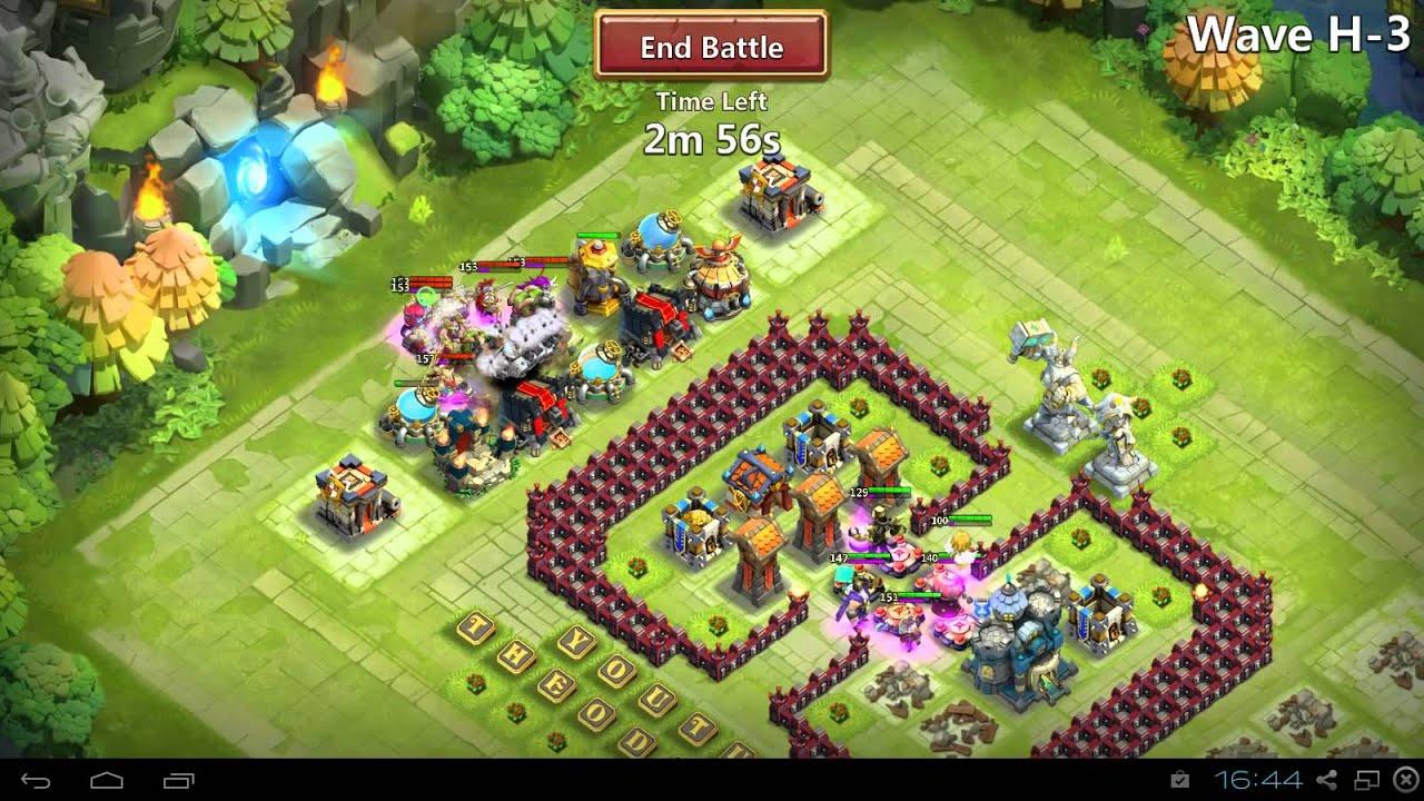 Castle clash town hall level 17 hbm h youtube