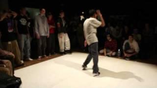"""Battle Just 4 Dance - Bordeaux Popping 1vs1 Présélection  """" Electric Yann """" (La Smala)"""