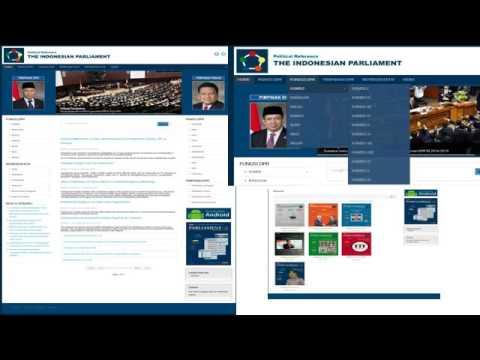 Credential Indonesian Parliament Media