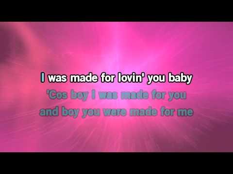 Maria Mena I Was Made For Lovin YOU