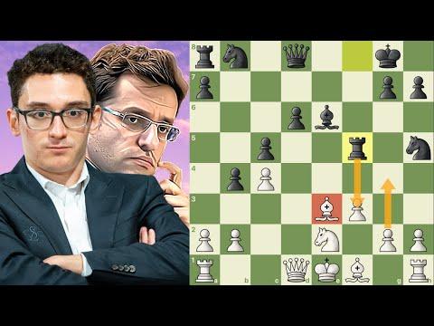 Uma jóia no Norway Chess 2020 || Caruana, Fabiano x Aronian, Levon (Norway Chess 2020)