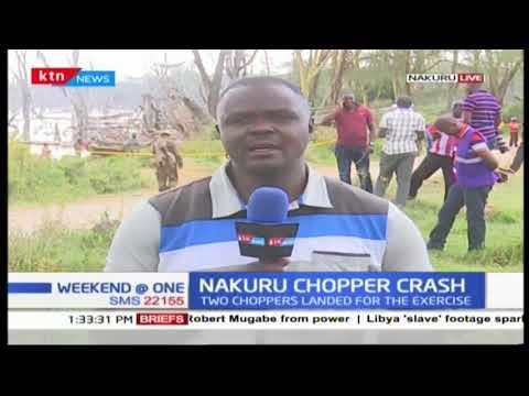 Update on Nakuru chopper crash after wreckage recovered from Lake Nakuru
