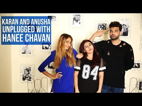 Karan Kundra and Anusha Dandekar Unplugged with Hanee Chavan