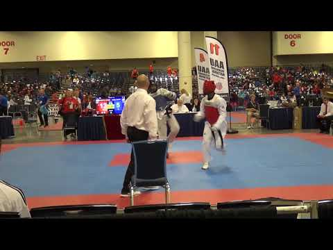 Austin Hines Fight 1 Nationals 2019