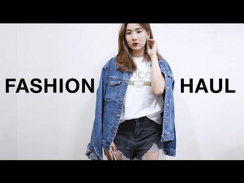 FASHION HAUL 2017 | เห่อเสื้อผ้าแฟชั่น Romwe, Shein, Dresslink, EllisBeauty, Shiverme
