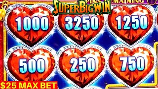 HIGH LIMIT Lock it Link Slot Machine BIG WIN | Sun Warrior Slot Machine