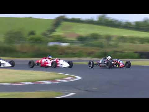 Dawson Wam Irish FF1600 Championship 2018 Kirkistown race 1