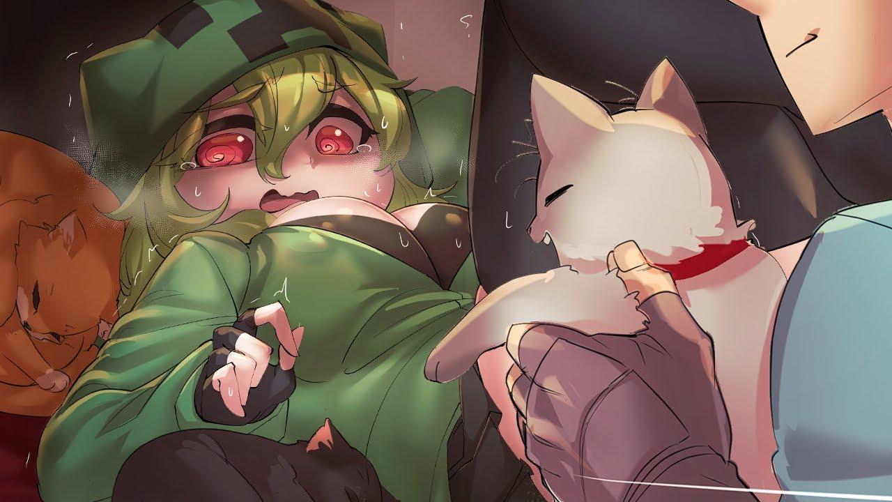 [MINECRAFT ANIME] 💚 Creeper-Chan Hates Cats!