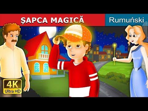 ȘAPCA MAGICĂ   The Magic Cap Story in Romana   Povesti pentru copii   Romanian Fairy Tales