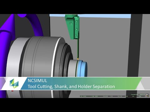 Configure Detailed Cutting Tools in NCSIMUL Including Tool Shanks