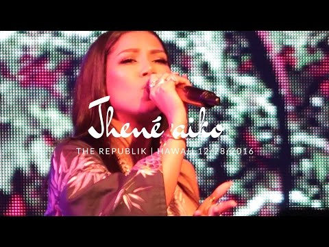 Jhené Aiko | hawaii concert @ The republik 12/28/16